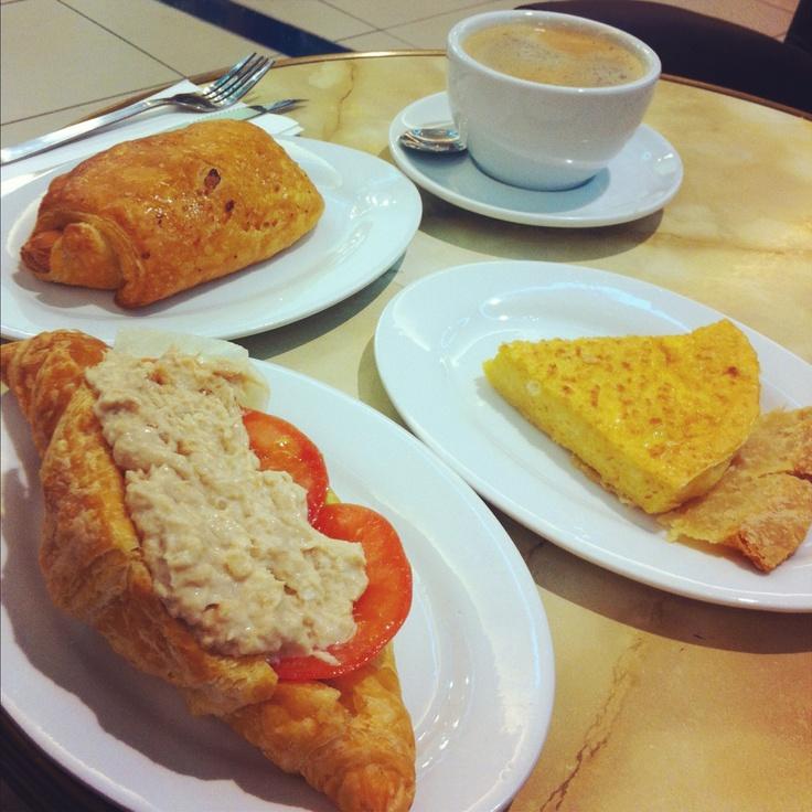 Tuna croissant sandwich | My Food Diary | Pinterest