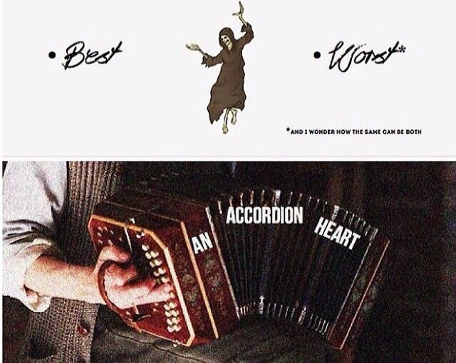 Death and accordion <3
