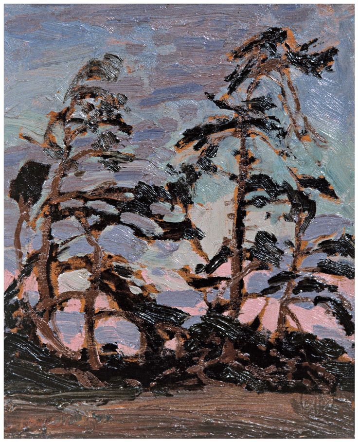 Tom Thomson Catalogue Raisonné | Evening, Pine Island, Summer 1914 (1914.37) | Catalogue entry