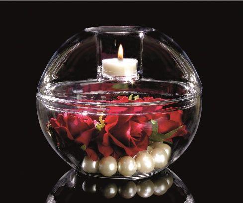 6410160205 porte lampion clearly creative globe d co - Porte bougie en verre ...