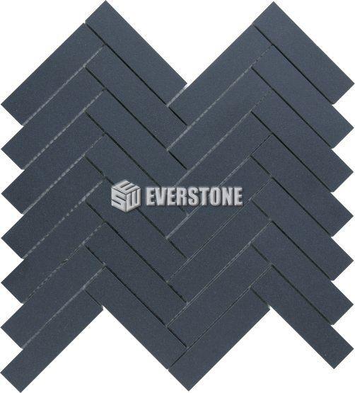 Durastone™ Herringbone Porcelain Mosaic, Charcoal 290x269x9 Matt | EVERSTONE Australia