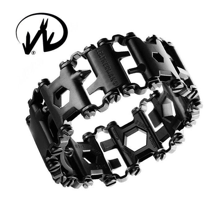Leatherman TREAD Black - bracciale multifunzione