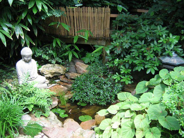 Foto del giardino zen in stile giapponese n.13