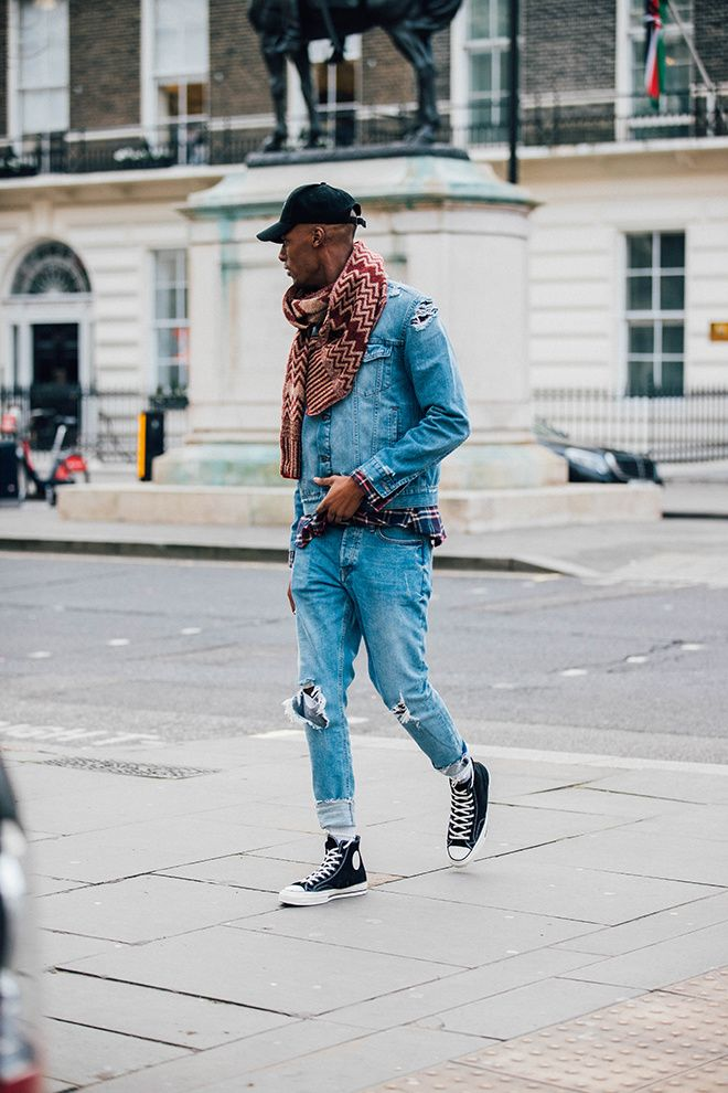 Street style at London Fashion Week Men's Fall/Winter 2017 ...