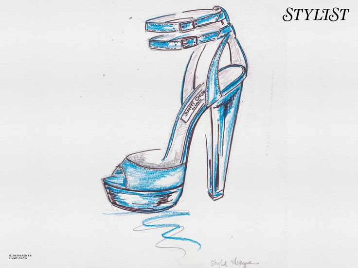 lolShoes Sketches, Fabulous Shoes, Fashion Shoes, Shoes Collage, Choo Shoes, Jimmy Choo, Shoes Illustration, Beautiful Shoes, Croquis Shoes