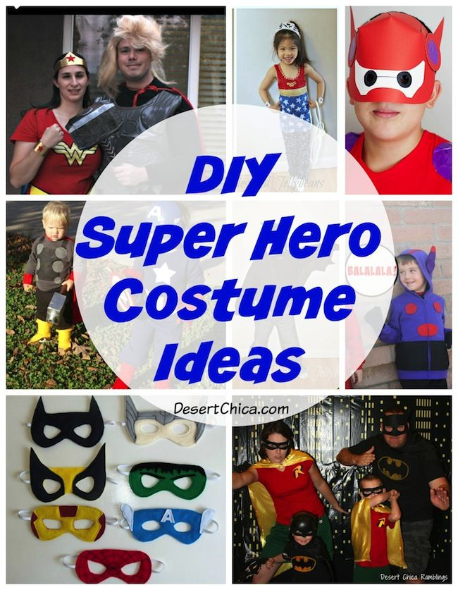 DIY Superhero Costume Ideas  sc 1 st  Pinterest & The 103 best Superheroes images on Pinterest | Carnival Artistic ...