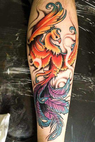 Erstaunliche Phoenix Tattoo-Ideen mit größerer Bedeutung ★ Weitere Informationen: glaminati.com / …..