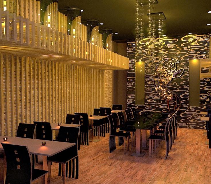 Japanese restaurant interior design chicago