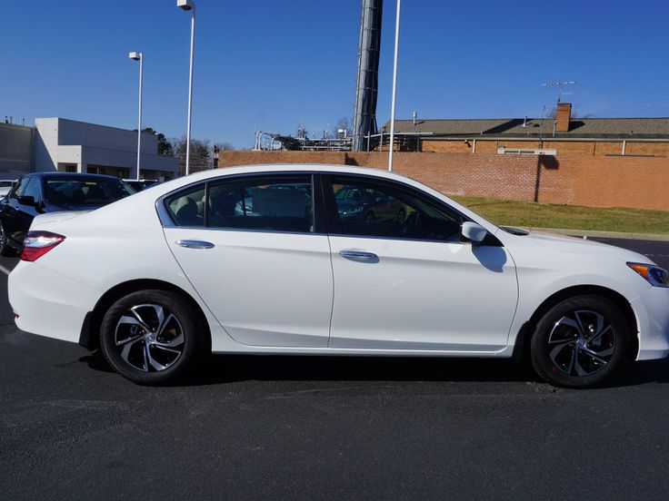 2016 Honda Accord LX CVT Sedan, White.Flow Automotive | New and Used Cars Trucks SUVs Minivans | Winston-Salem Greensboro Fayetteville Raleigh Charlottesville | Piedmont Triad - Car Details