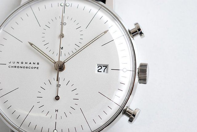 Junghans Max Bill Chronoscope.