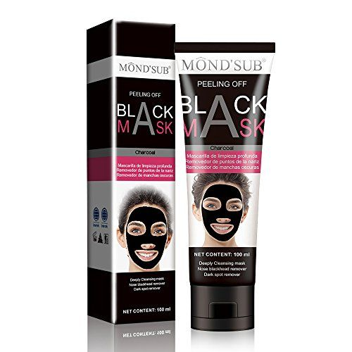 Lambda Beauty Pores Cleaning Blackhead Remover Mask Bamboo Charcoal face mask Peel Off Black Mask  (100ml)