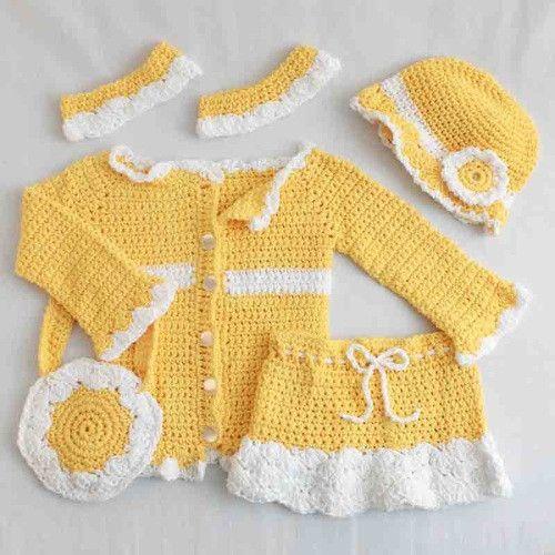 Sunny Days Ensemble Crochet Pattern