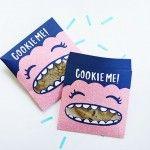 Un emballage super mignon pour vos Cookies maison