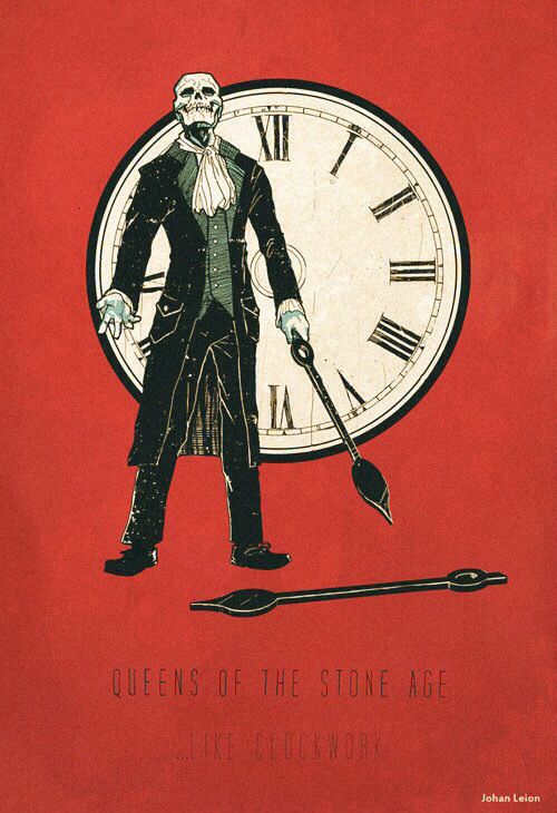 Queens of the stone age art like clockwork