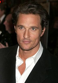 Best Male Actors Over 40 | Matthew McConaughey