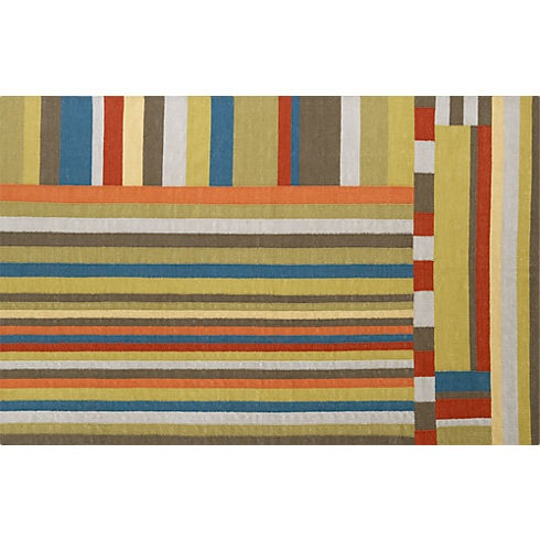 Rayas Dhurrie Rug In Rugs/pillows