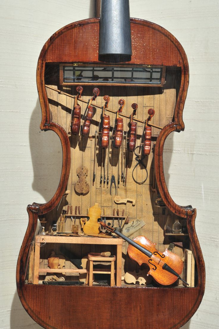 The violin shop