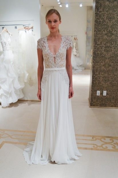 115 best Reem Acra images on Pinterest | Short wedding gowns ...
