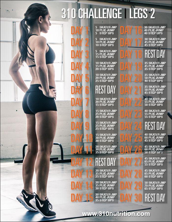 1000  ideas about Leg Challenge on Pinterest | 30 day leg ...