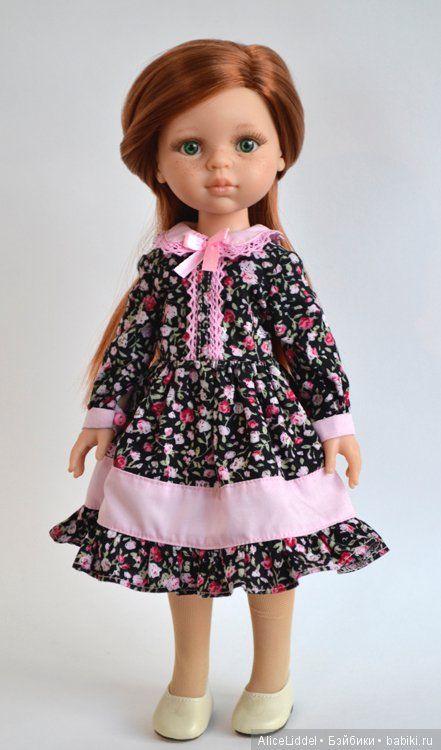 И снова, платья на девочек от Паола Рейна! И не только / Одежда и обувь для кукол - своими руками и не только / Бэйбики. Куклы фото. Одежда для кукол