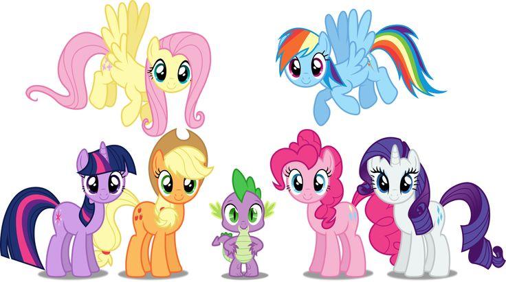 My Little Pony Surprise Cubeez Cubes MLP Mane 6 Show Episode ...