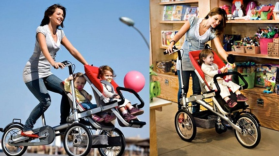 Bicicleta transformable