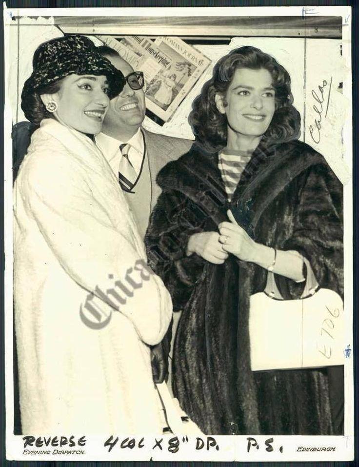 Μαρία Κάλλας και Μελίνα Μερκούρη