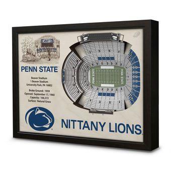 "Penn State Nittany Lions 27"" x 21"" Beaver Stadium Wall Art #pennstate #nittanylions #psu"