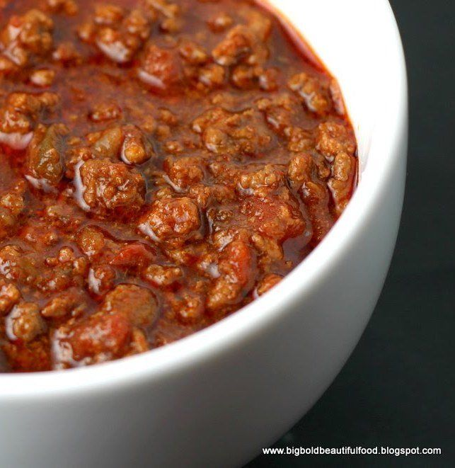 Recipe for Go Hot or Go Home Beef Chili – Award Winner
