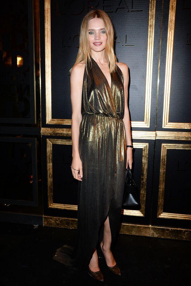 Гости вечеринки Gold Obsession в Париже | Мода | Выход в свет | VOGUE