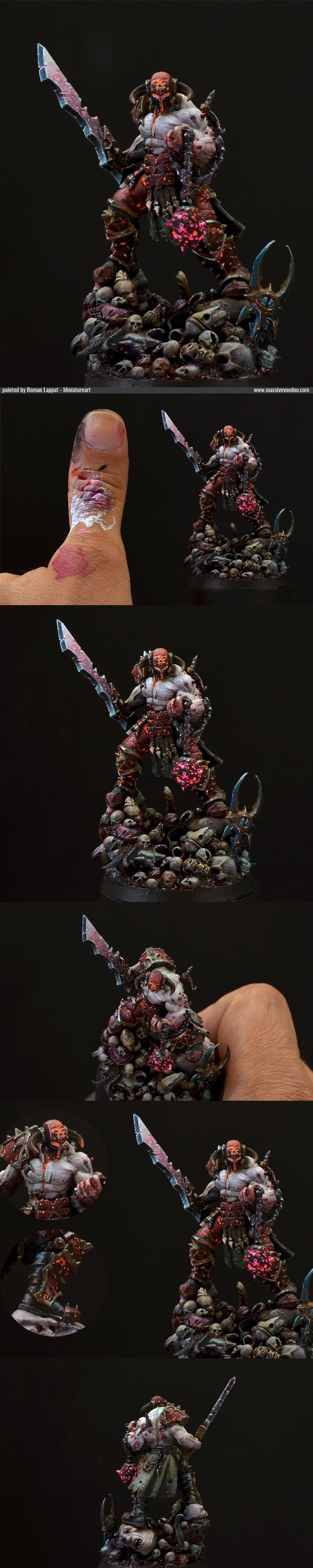 CoolMiniOrNot - Slaugtherpriest of Khorne by jarhead