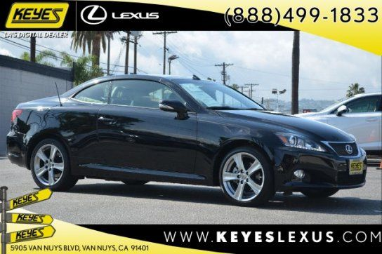 Convertible, 2015 Lexus IS 250C with 2 Door in Van Nuys, CA (91401)