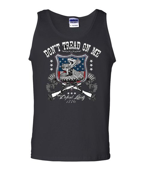 ***You Can Find The Most Unique Sleeveless Tank Tops at Tee Hunt Online Store*** Here is > Defend Liberty Patriotic Tank Top Don't Tread On Me Gadsden Flag Rattle Snake USA Gym Workout at Only $ 14.99