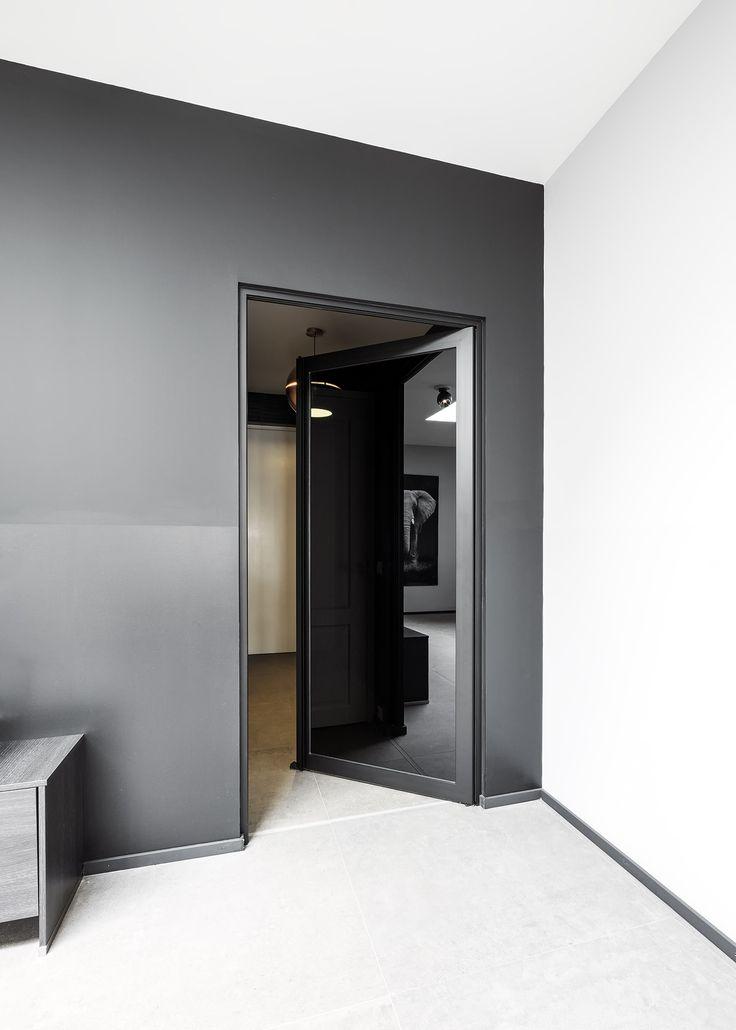 Steellook binnendeuren met zwart glas - ANYWAYdoors