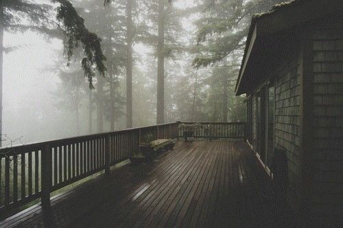 """rhapsodybrohemian: """" How amazing it would be to sit out there on a foggy morning, drink coffee and smoke a few bowls. """""""