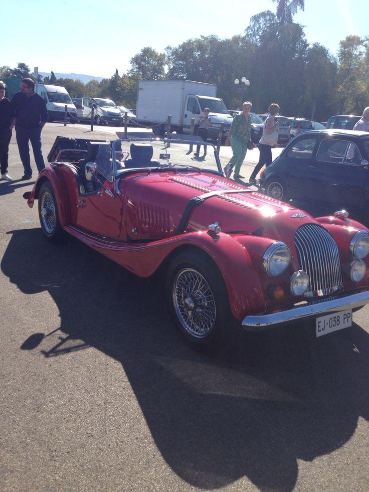 Raduno auto antiche a Firenze