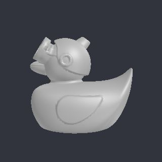 duck free 3D model Cloud_Duck_-_3DPrinterOS.stl vertices - 19521 polygons - 38981 See it in 3D: https://www.yobi3d.com/v/MdPgWKJc1v/Cloud_Duck_-_3DPrinterOS.stl