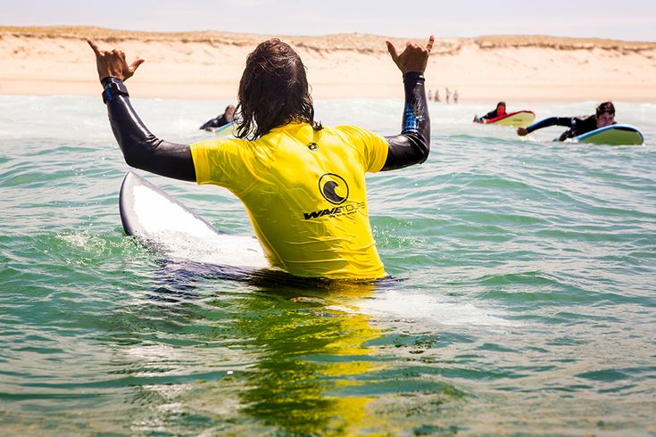 wavetours Surfkurs St Girons #surfcamp #wavetours #stgirons #surfen