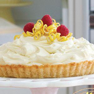 Lemon Mousse Tart   MyRecipes.com