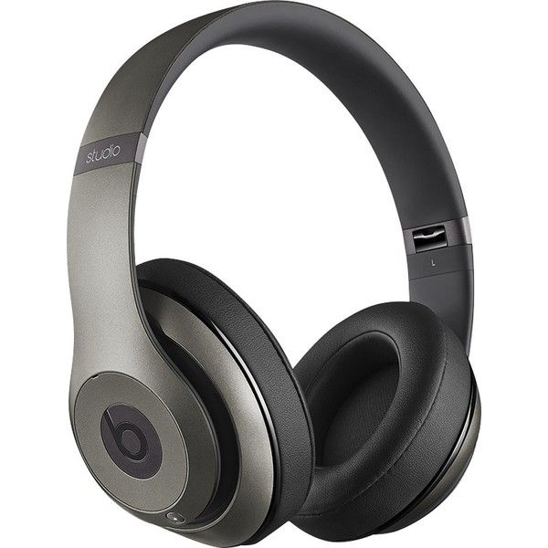 Beats by Dr. Dre Beats Studio Wireless On-Ear Headphones Gray... (280 CAD) ❤ liked on Polyvore featuring accessories, tech accessories, beats by dr dre headphones and beats by dr. dre