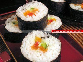 Receita de Sushi de salmão