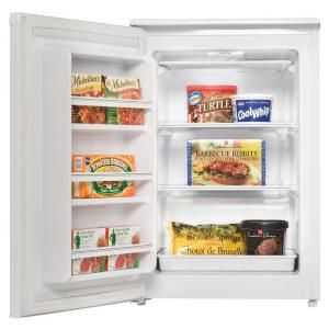 upright compact freezerthis would be good for longer term items paint the front with chalkboard paint and use that to keep track of contents - Small Upright Freezer