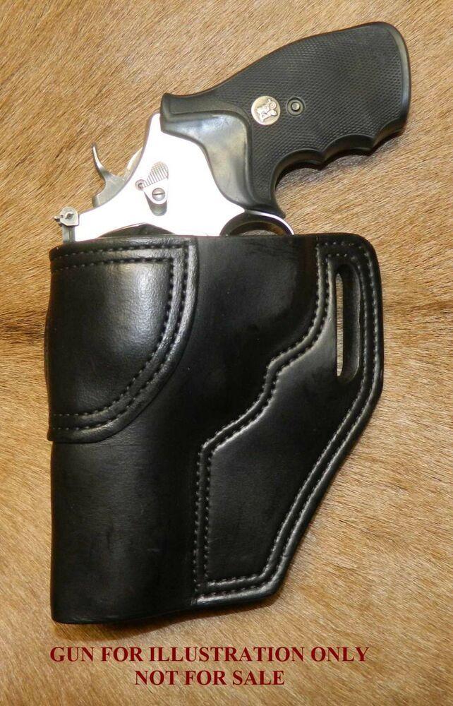 Gary C's Avenger OWB Revolver HOLSTER LEFT HAND S&W N Frame