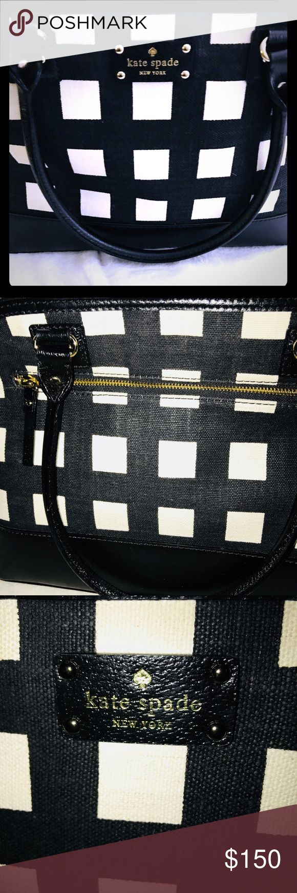 Kate Spade Satchel(large) NWOT Used once only for 10 minuets to wave hello to my friend who loves Kate Spade;  yes, I'm a dork sometimes, lol!!!  I have many bags and am now a single mom.  Must sell as much as I can!!!  In brand new condition.  I'll put the stuffing back in it.  Price reduction is a huge steel and firm.  With 3 times as much. Kate Spade Bags Satchels