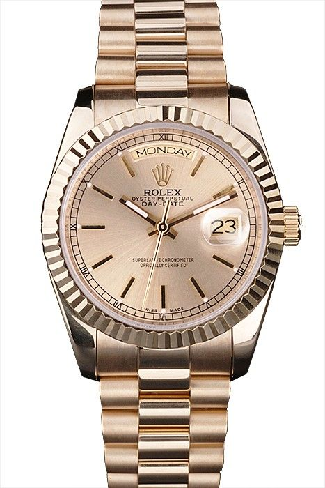 Rolex Day-Date 18k yellow gold plated stainless steel case Ladies Watches 2016 Premier Designs Luxury Watches Design Beautiful Unique Watches Design Engagement Rings Watches For Men 2016 Ray Bans