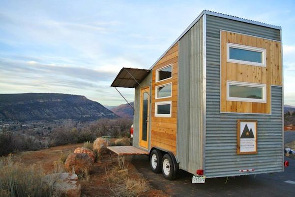 The Boulder Tiny House for Sale: $27,350 Ugly exterior but the interior has some great ideas.