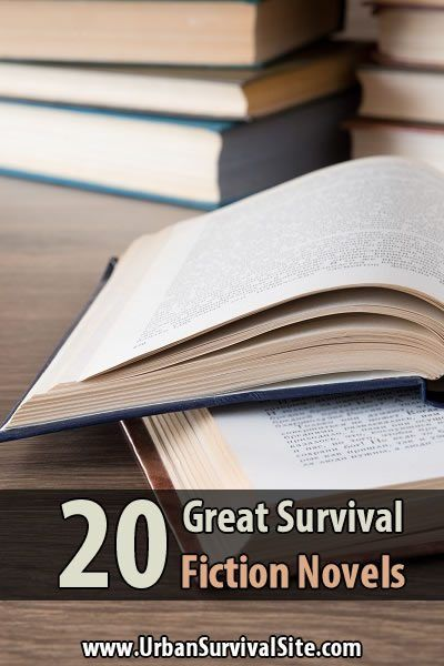 If you need some motivation to prepare for a disaster or inspiration to get through one, try reading one of these survival fiction novels.