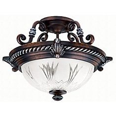 Bercello Estates Semi-Flush Mount Fixture