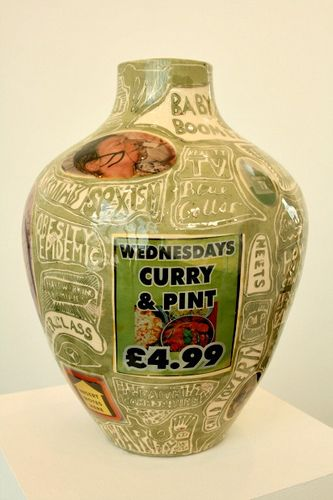 Potter Artist Grayson Perry (British: 1960 - )