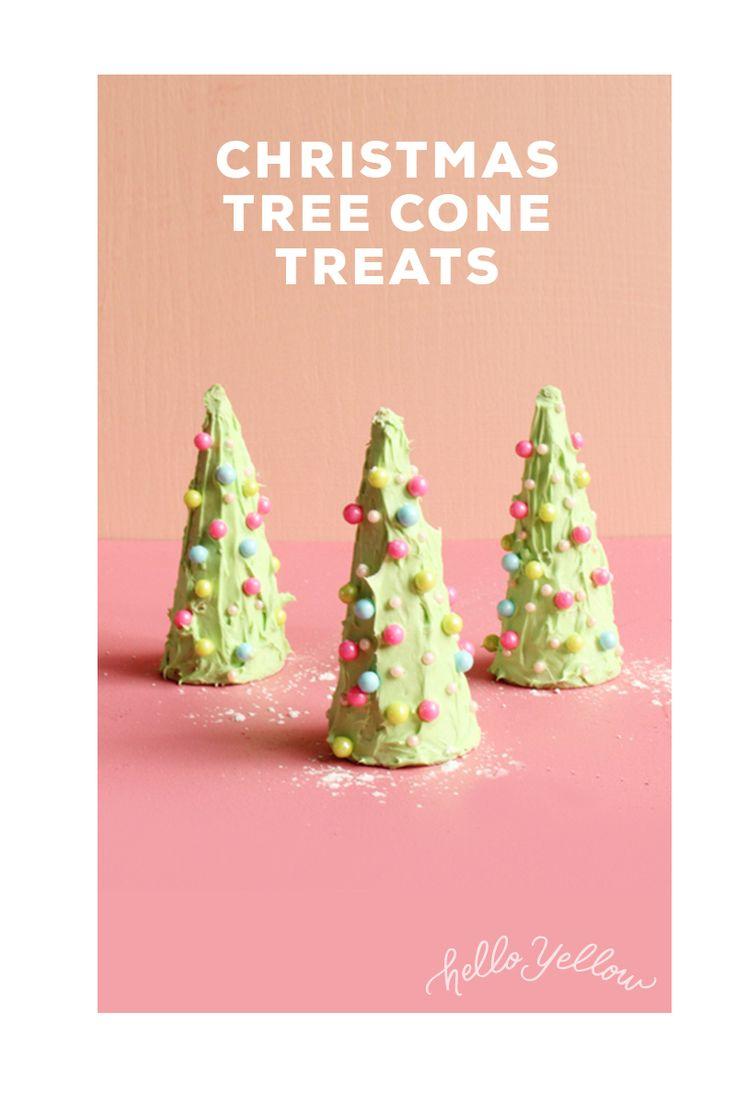 Easy Christmas Tree Treats! Simple & Delicious! #LeonsHelloHoliday